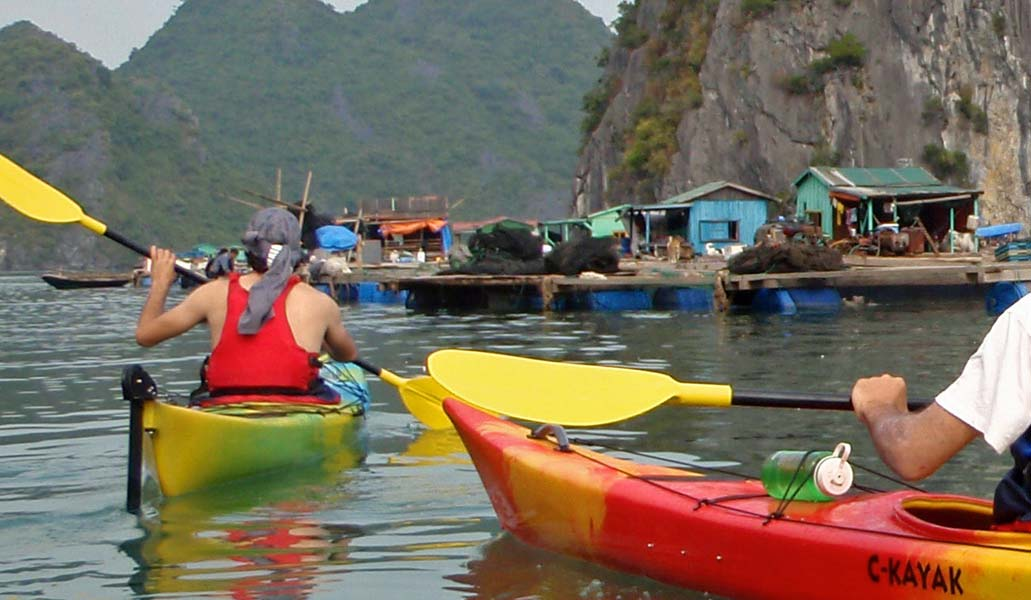 Kayaking Ha Long Bay FS